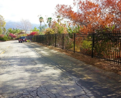 D Fence Builders Iron Fencing